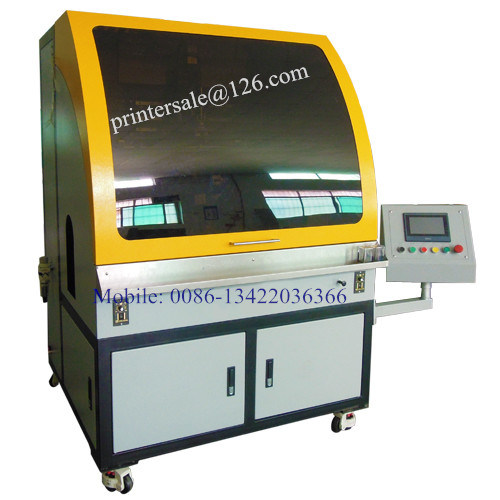 Auto Screen Printing Machine 1 Color for Bottle Tube Cup Jar