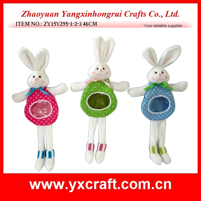 Easter Decoration Free Sample (ZY15Y295-1-2-3) Easter Bunny Bag Easter Gift Craft Dropshipping
