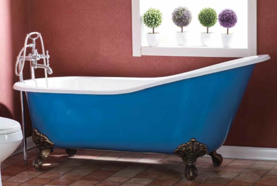 China Cast Iron Classic Slipper Bathtub - China Bathtub, Classic ...