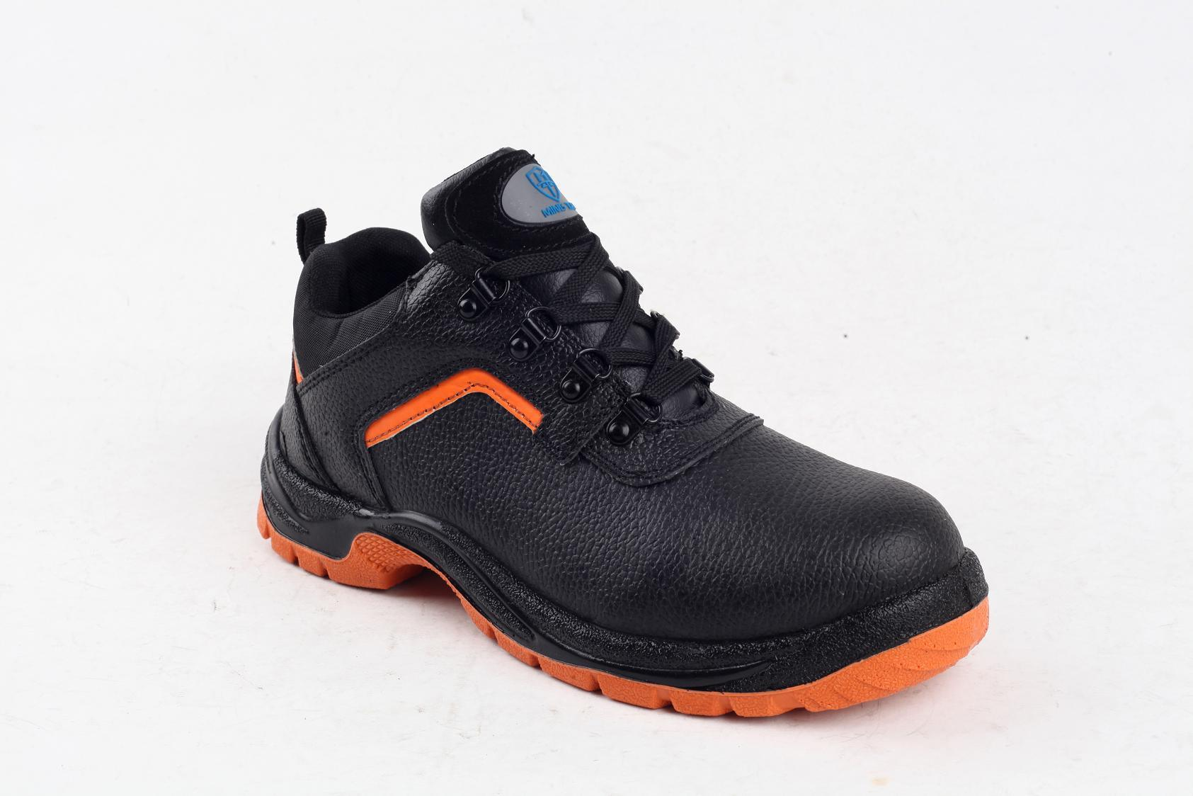 S1p Full Grain Leather/Cow Split Leather Safety Shoes Sy5008