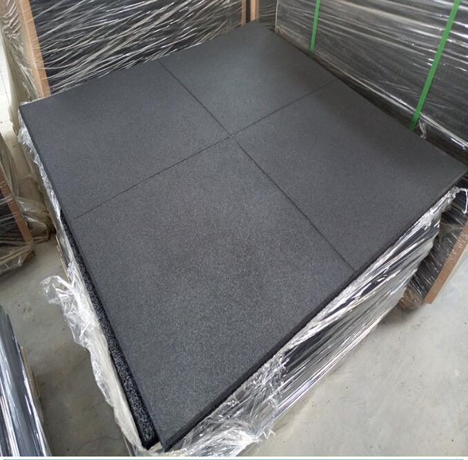 1m X Rubber Gym Floor Tiles