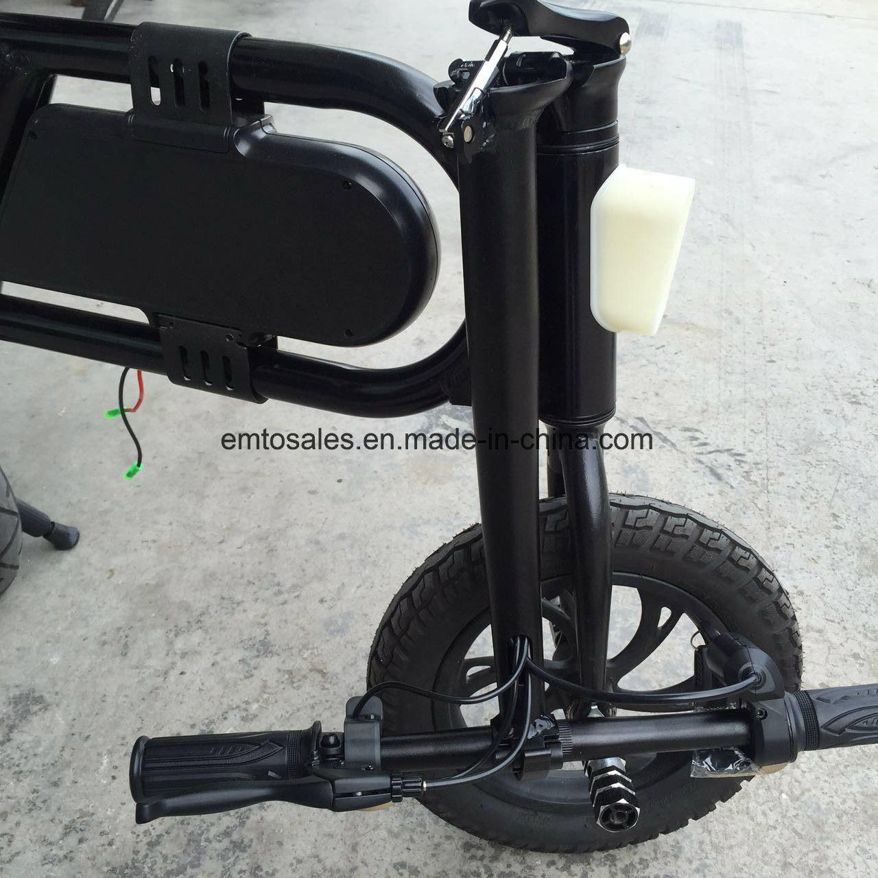 Foldable Electric Bicycle with Lithium36V Battery pictures & photos