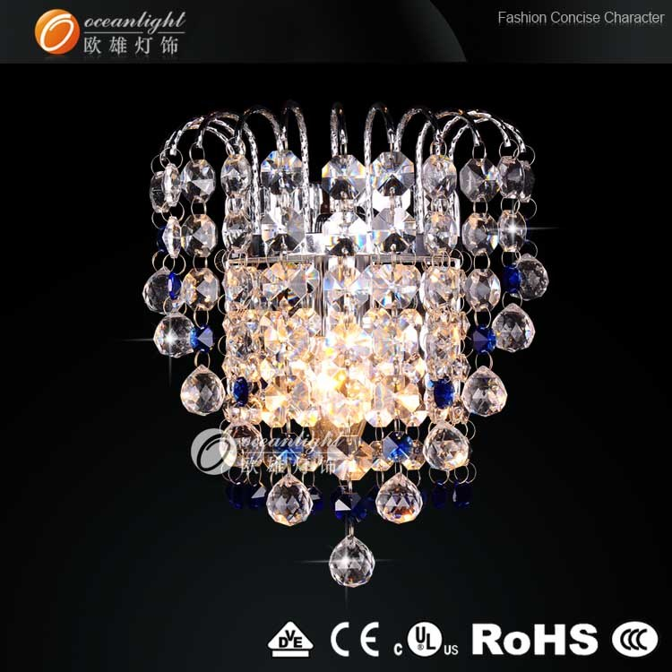Crystal Wall Lamp Decorative Lights India For Home Om88059