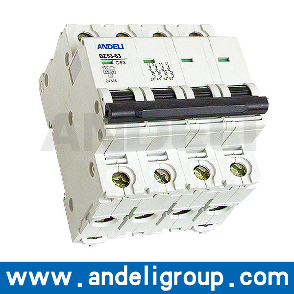 125 AMP 4 MCB Mini Circuit Breaker (DZ53-63)