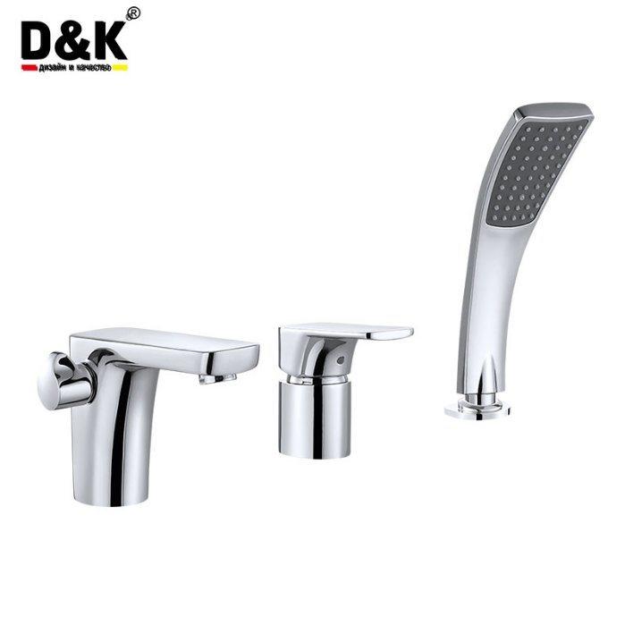 China D&K High Quality Single Handle Basin Tap Bath Faucet - China ...