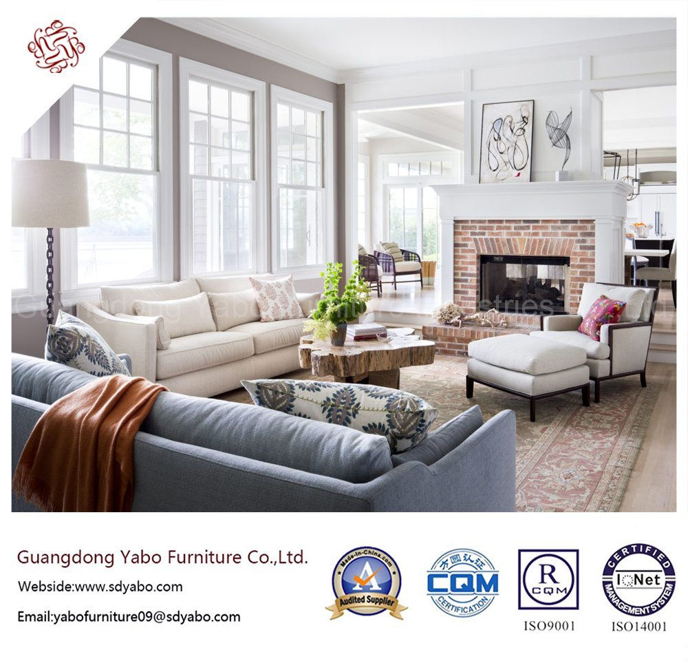 China Delicate Hotel Furniture with Living Room Fabric Sofa Set (YB ...