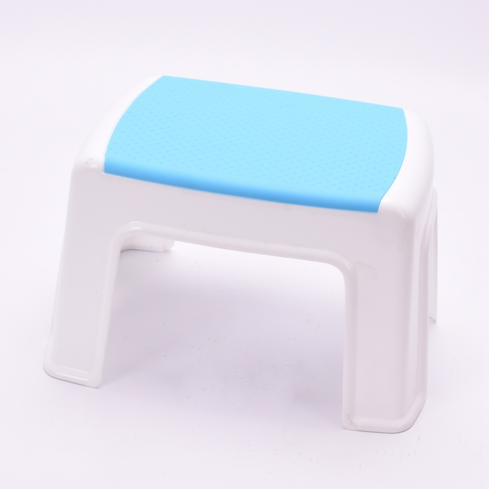 Colorful Plastic Shower Stool Festooning Bathtub Ideas