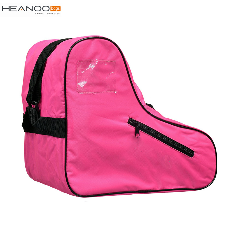 Custom Logo Design Heavy Duty Inline Carrying Shoe Bag Roller Ice Skate Bag for School Kids Adult pictures & photos