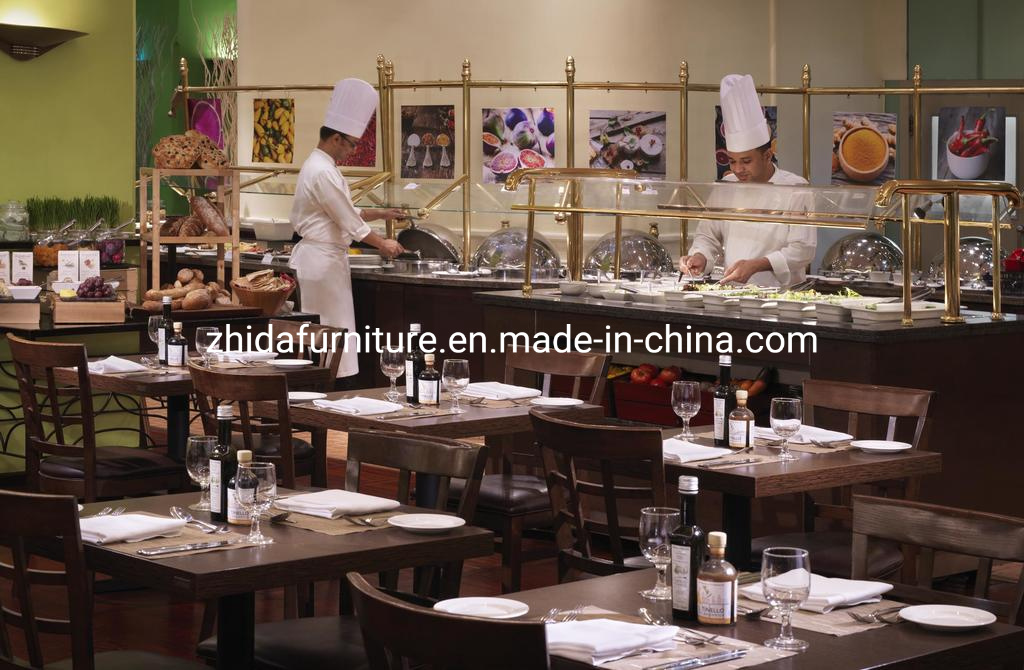 China Modern Dining Table Booth Seating Custom Restaurant Furniture Set China Lobby Furniture 5 Star Hotel Furniture