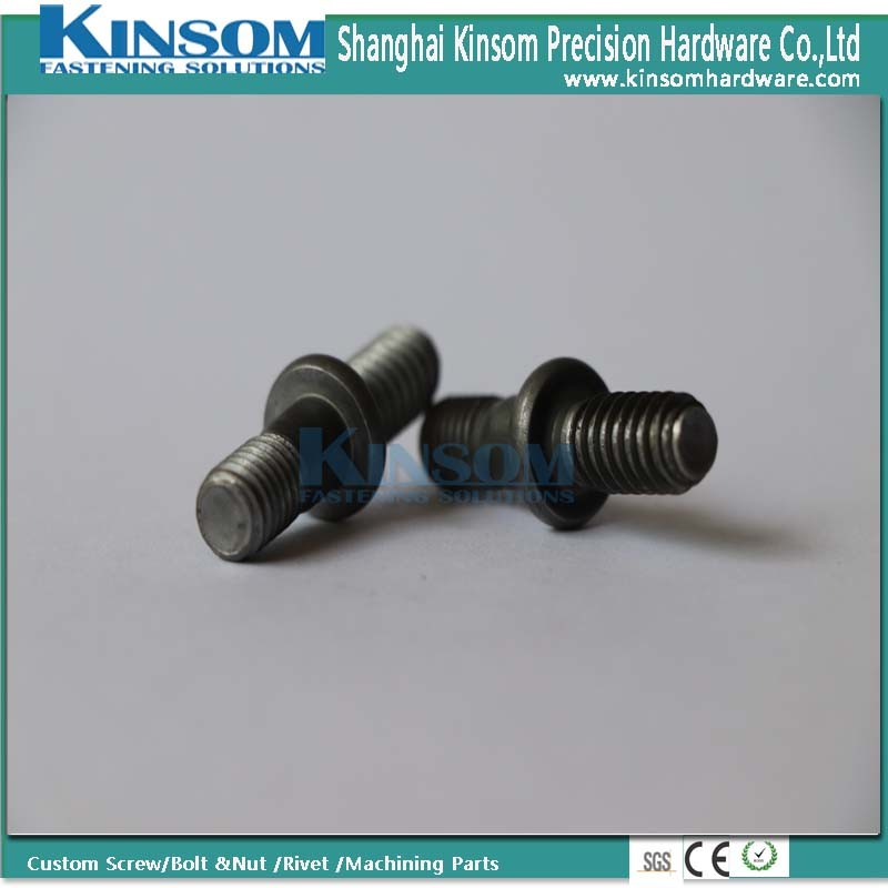 Special High Strength 10.9 Class Metal Rod Parts Ss Double Head Bolt pictures & photos