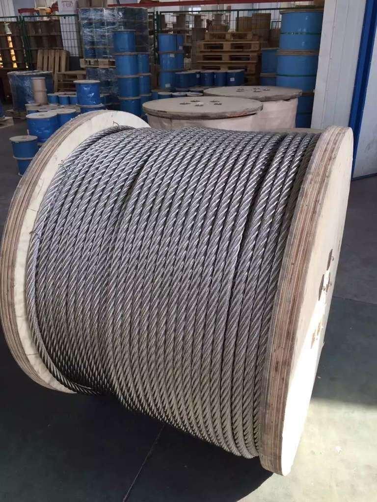 China Galvanized Steel Wire Rope 6X19+Iwrc - China Galvanized Steel ...