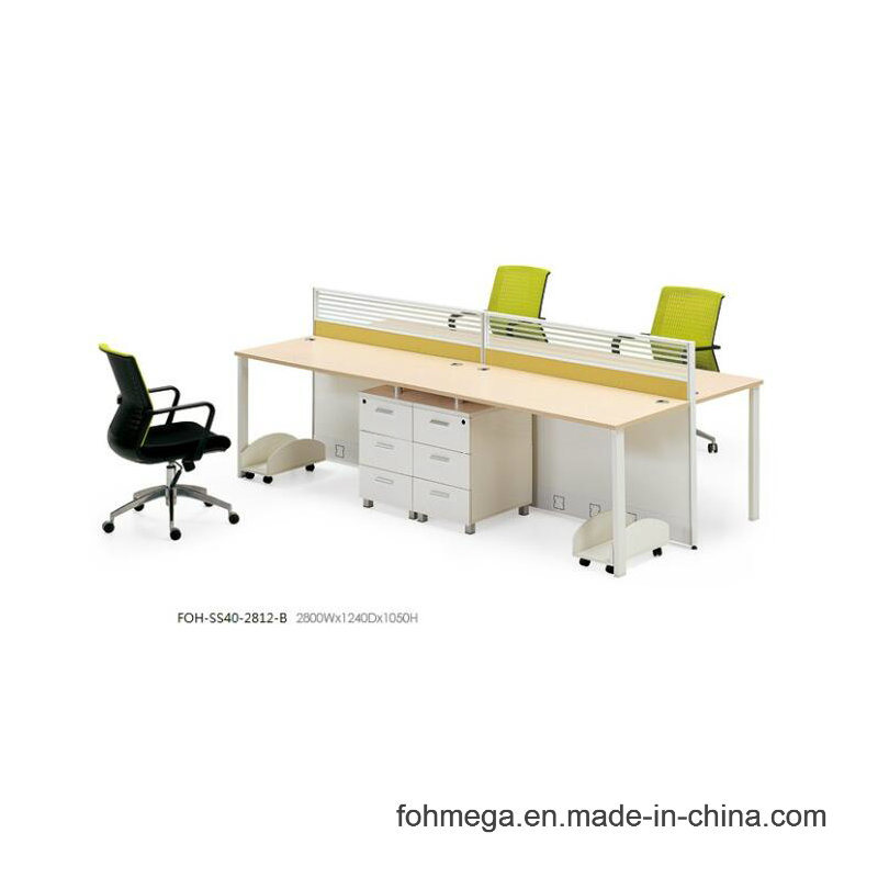 China Portable Simple Office Computer Desk With Aluminum Legs
