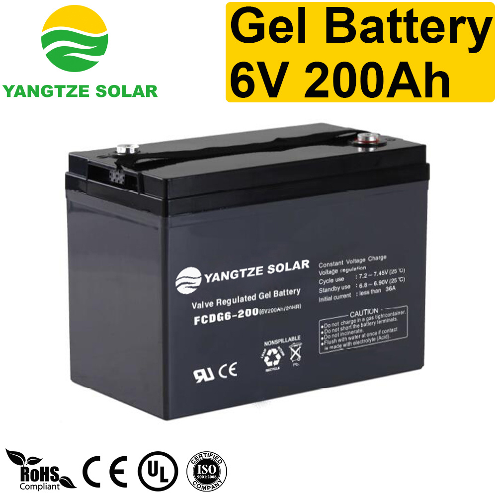 [Hot Item] Cheap Price 6V 200ah 6 Volt Deep Cycle Battery