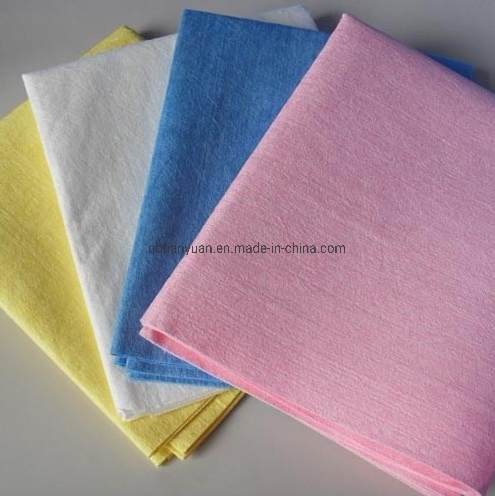 Microfiber Wipes Spunlace Non-Woven Germany Fabric Cleaning Cloth pictures & photos