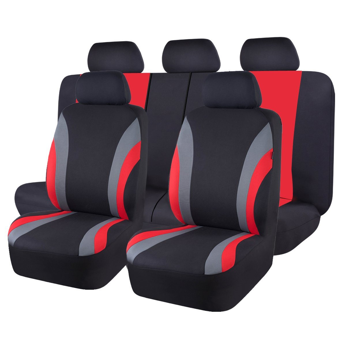four season universal vehicles interior accessories seat cover cushion  red+black car parts interior parts & furnishings  touraco