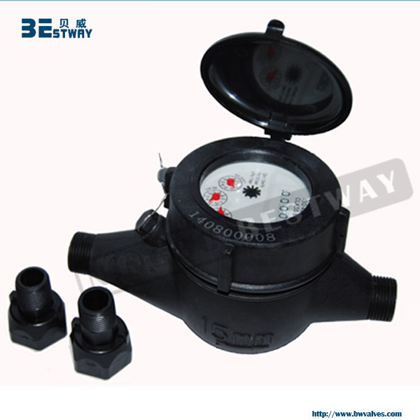 Multi Jet Dry Dial Plastic Water Meter pictures & photos