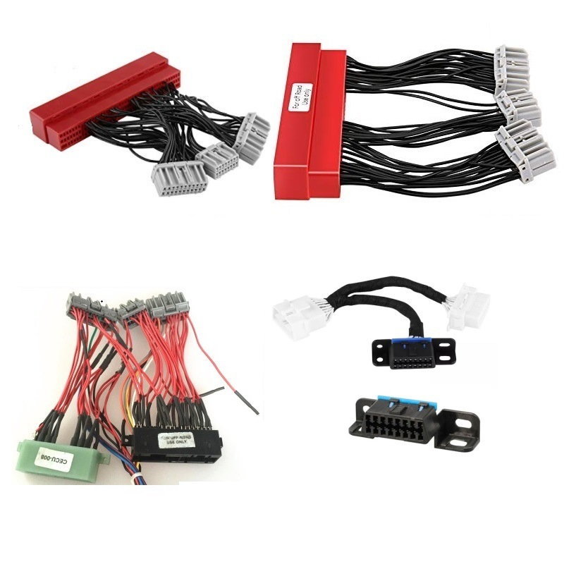 [Hot Item] China Manufacturer Auto OBD2b/OBD2a to OBD1 Automotive ECU  Jumper Wire Harness