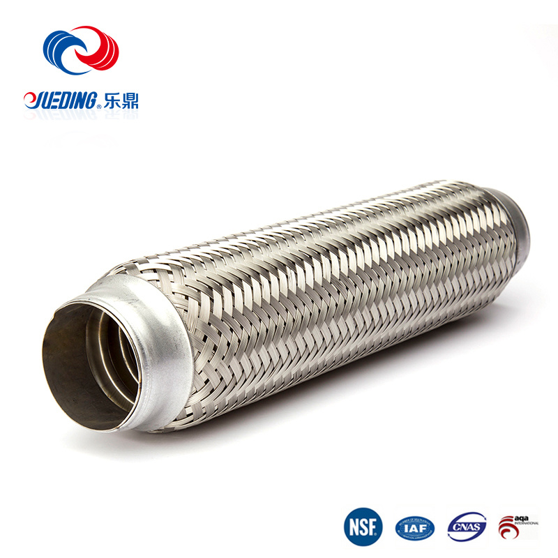 "3/"" X 4/"" Exhaust Muffler Flex Pipe Stainless Steel"
