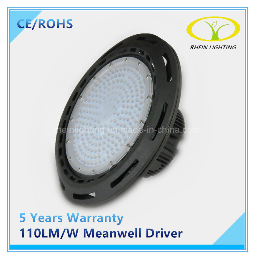 100W Industrial UFO LED High Bay Light with Meanwell Driver pictures & photos