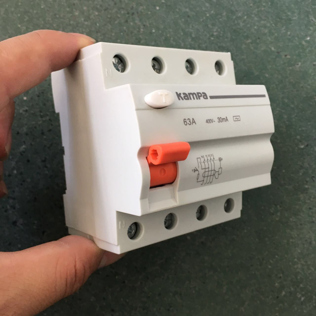 China Domae Home Usage Residual Current Circuit Breaker Rcd Rccb A In Earth Leakage