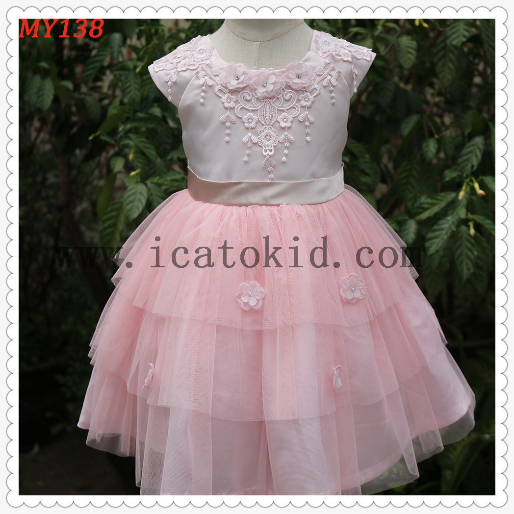 China 2017 Baby Girls Birthday Dresses Party Wear Frock Design ...