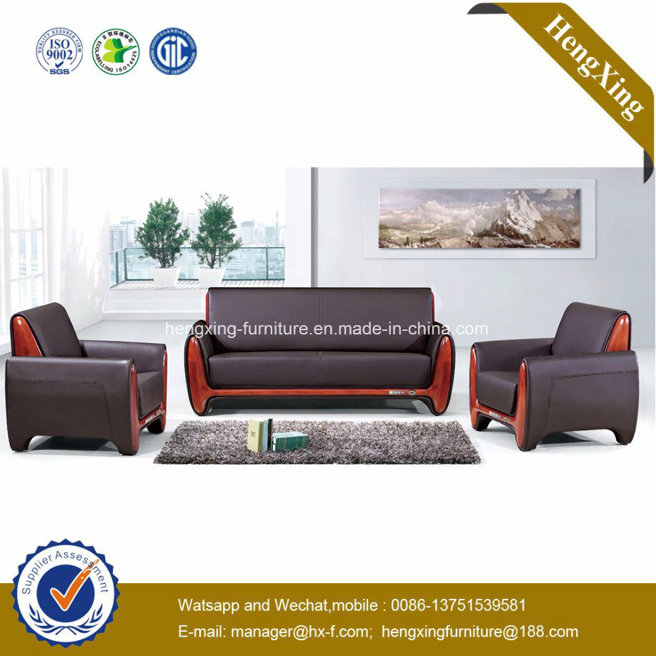 China factory wholesale price modern office furniture waiting room sofa hx cf003 china couch leather sofa