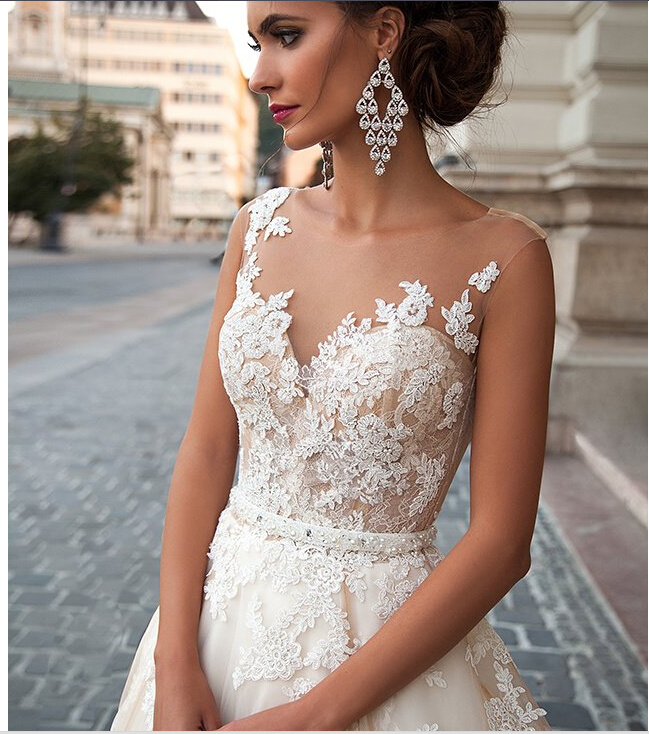 2018 Ball Gown Prom Evening Bridal Wedding Dresses Wj001 pictures & photos