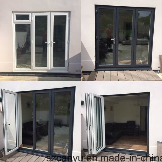 Aluminum Casement Window with Double Glass As2047 and As2208 pictures & photos