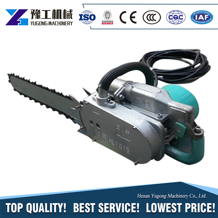 China Electric Portable Diamond Concrete Chain Saw with Factory ...