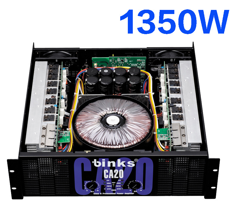 1350W Professional High Power Amplifier Ca20