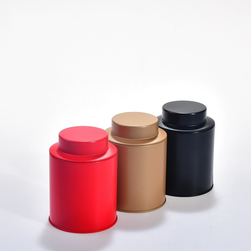 Gift Tin Cans for Tea, Coffee Metal Cans