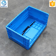 Collapsible Multi Function Large Folding Plastic Storage Crate Container Box  For Meat And Produce