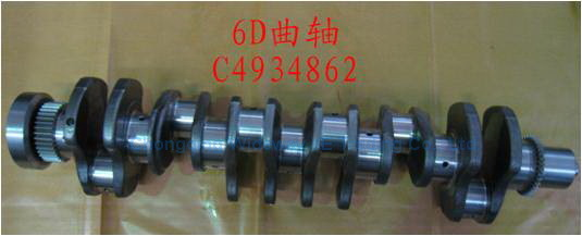 Original/OEM Ccec Dcec Cummins Engine Spare Parts Crankshaft