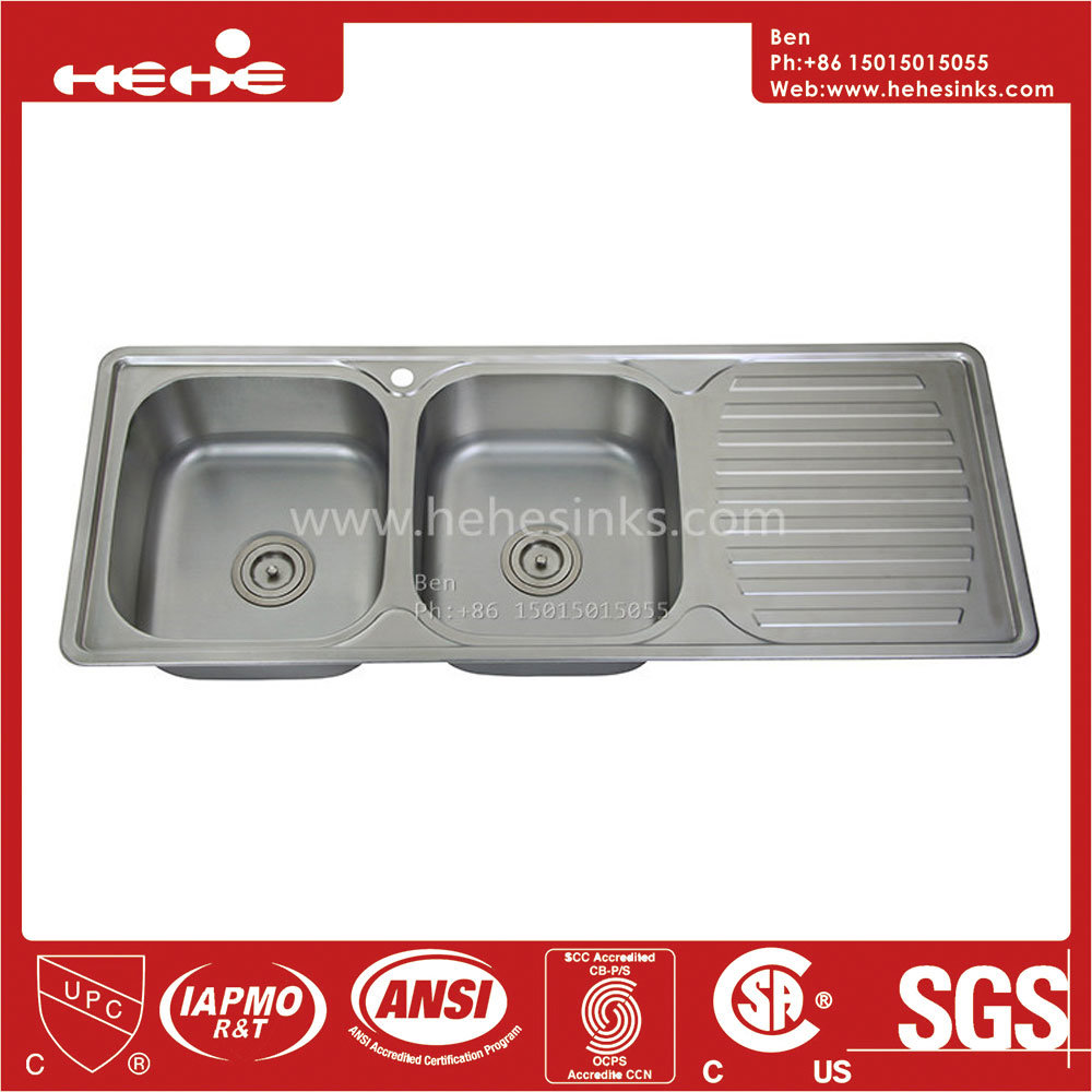 China top mount equal double bowl kitchen sink with drain board china stainless steel drain board kitchen sink kitchen sink