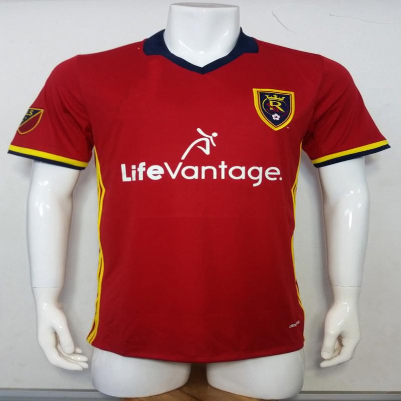 big sale 0ee44 d4c04 [Hot Item] 2016/2017 Season Real Salt Lake Home Football Uniform