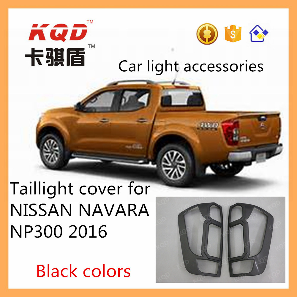 2015+ Chrome Rear Window Trim Accent Cover To Fit Nissan Navara NP300