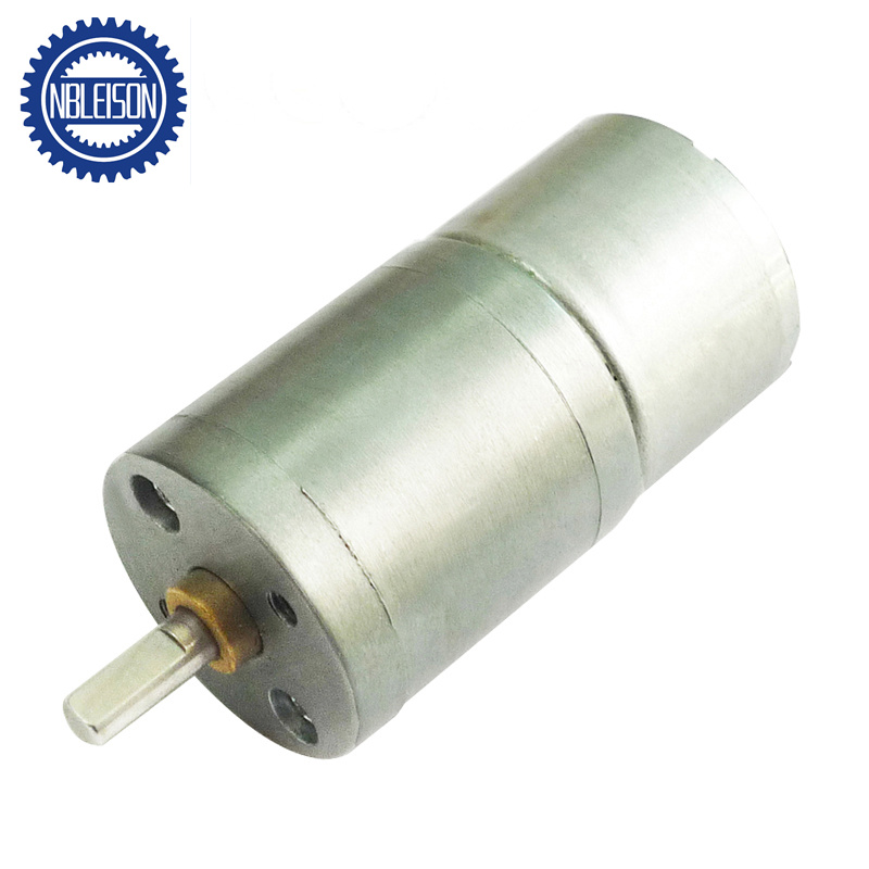 China 25mm Small Dc Brush 12 Volt Gear Motors 3v 6v 12v 24v