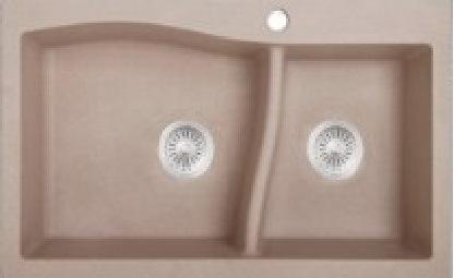 China Anti-Scratch, Stains Free Quartz Composite Kitchen Sinks ...