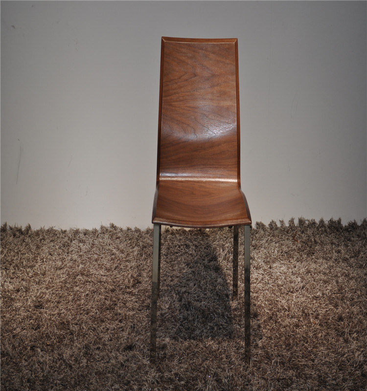 Plywood in High Gloss Dining Chair (72#)