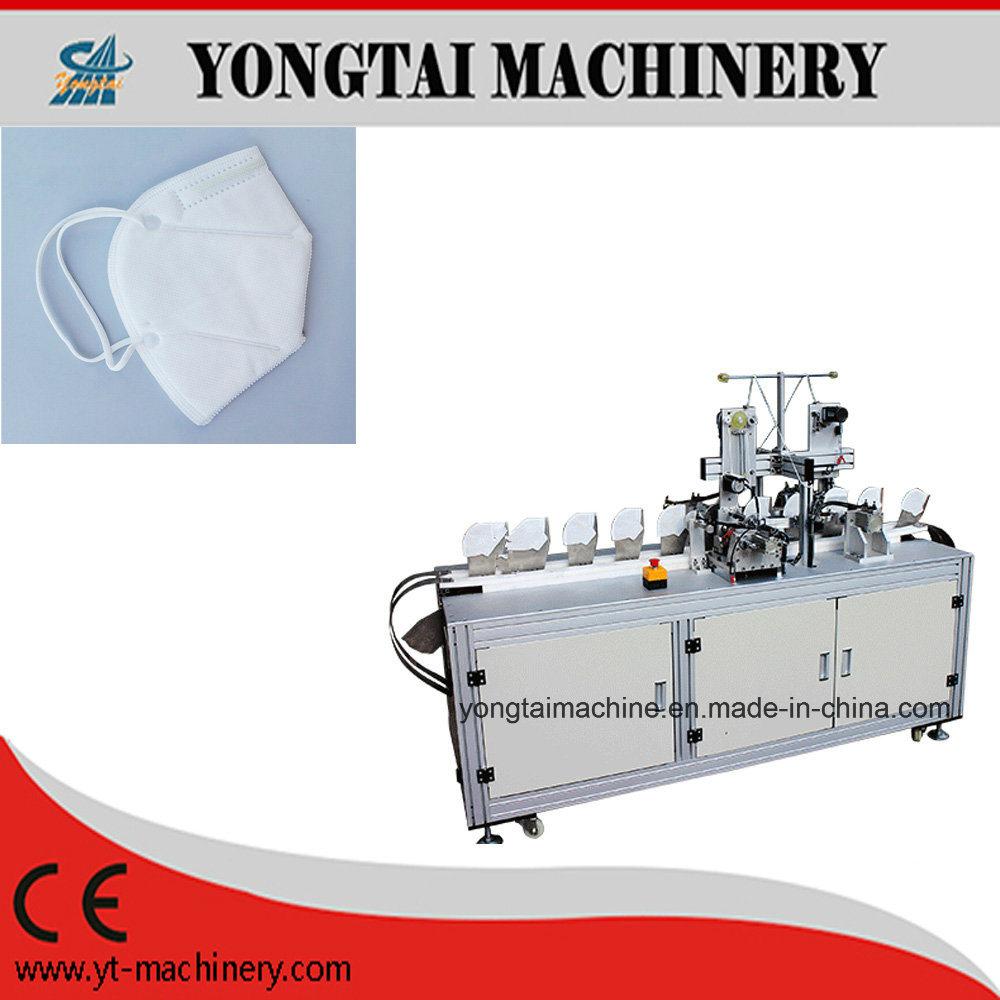 China Hot Sale Nonwoven Ultrasonic Folded Mask Earloop Welding Diagram Machine Fold