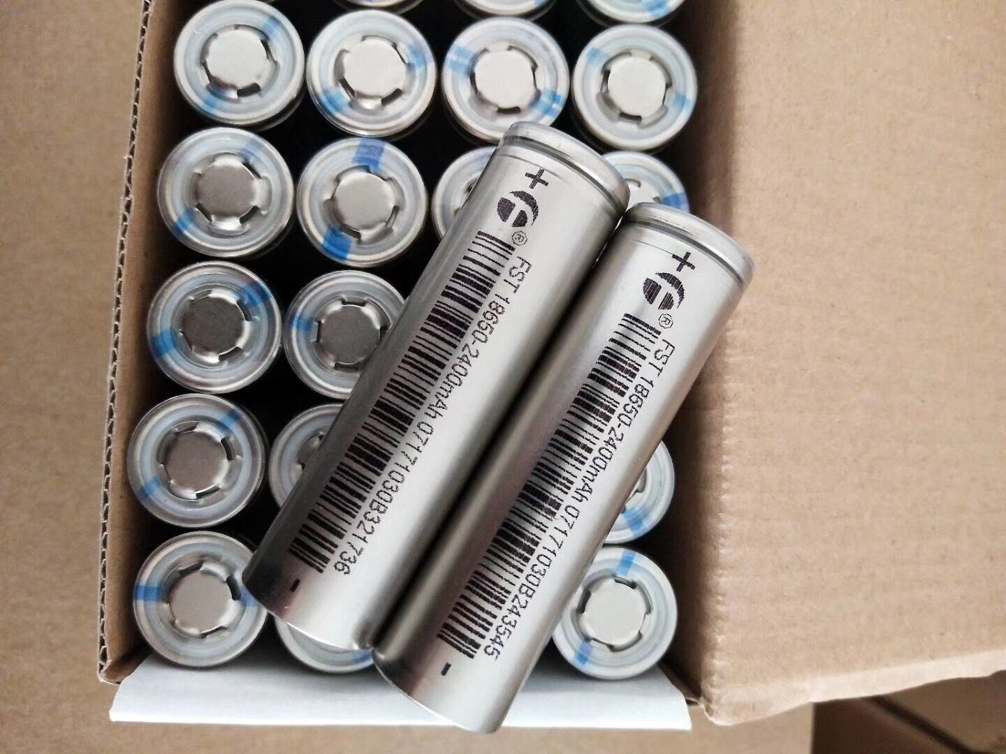 China Fst 37v 2400mah 5c Discharge Current 18650 Lithium Battery Rechargeable Liion Batteries W Protection Circuit Cell Li Ion