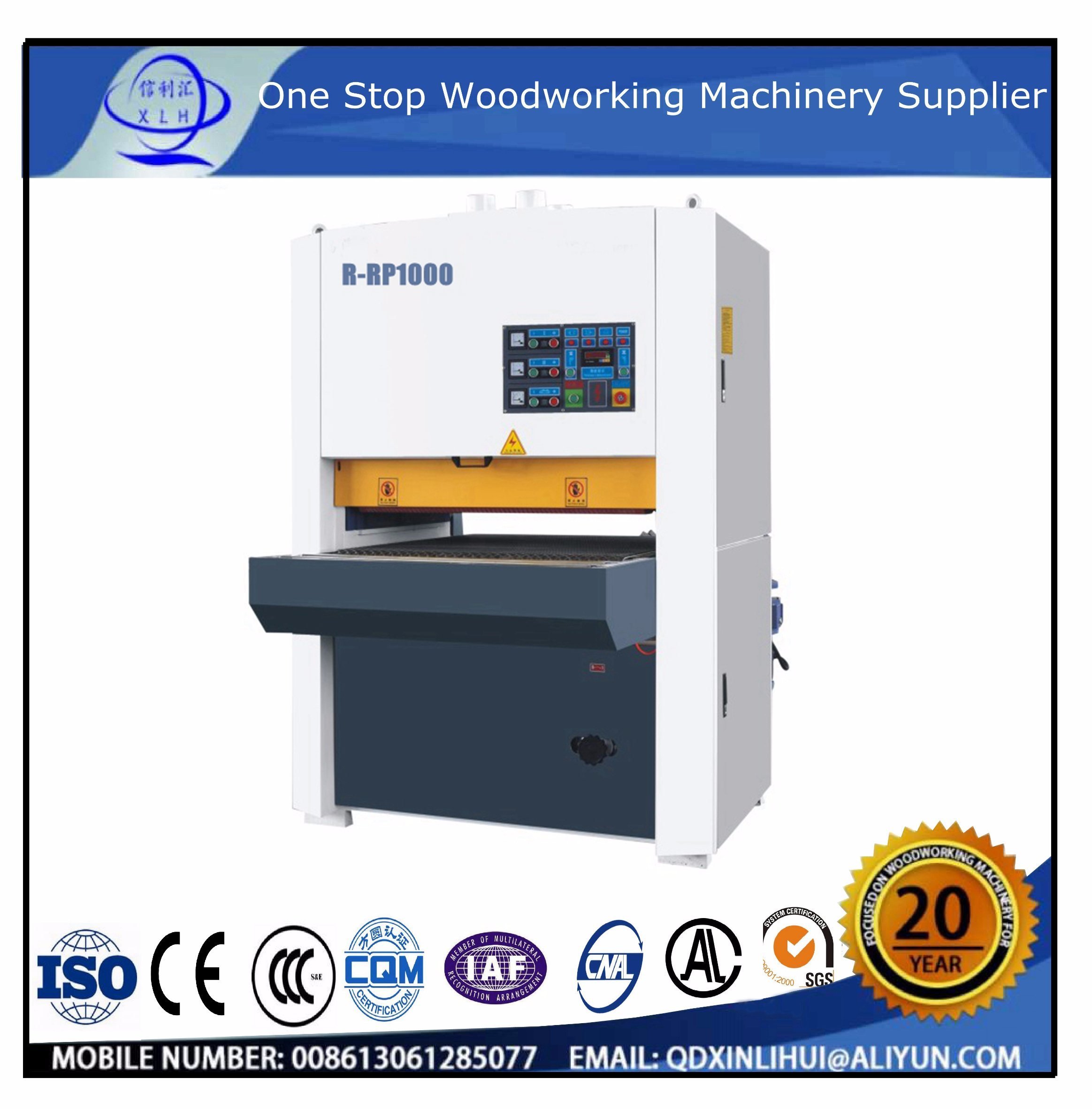 China Wood Floor Base Coat Paint Sanding Machine Sander Manufacturer 1000mm Furniture Painting Primary Board Smoothing