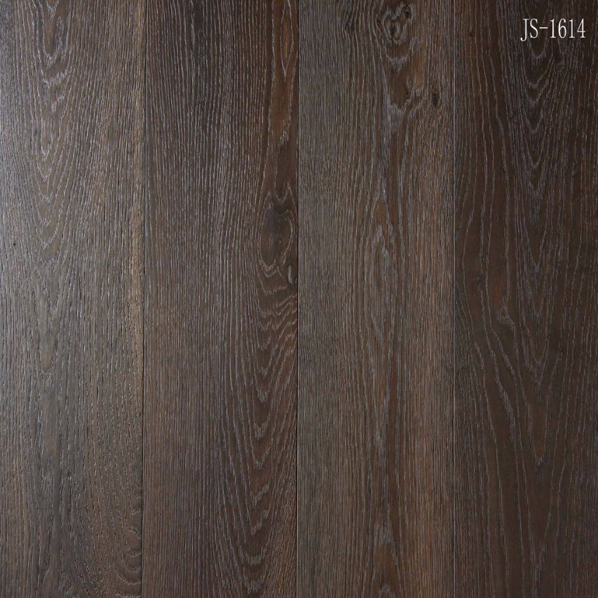 China Dark Color Householdcommercial Engineered Oak Parquet Wood