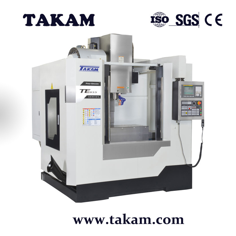 [Hot Item] Small Vmc Machine Te-855 CNC Vertical Machining Center CNC  Machinery