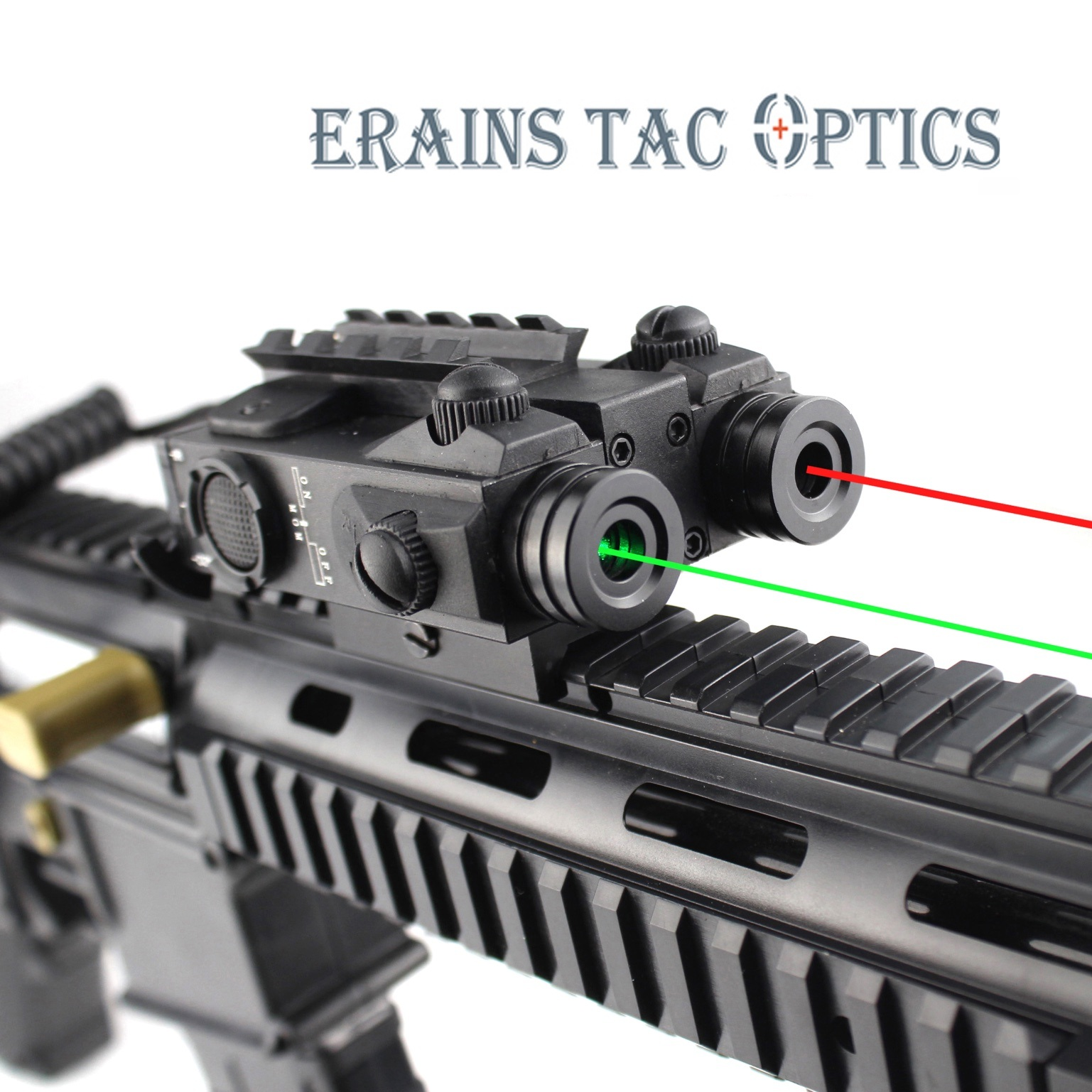 1 set Tactical Red Laser Sight Scope with tail switch for Rifle with optical