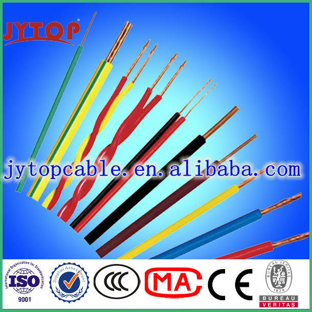 China 450/750 HIV Wire High Heat-Resistant PVC Insulated House ...