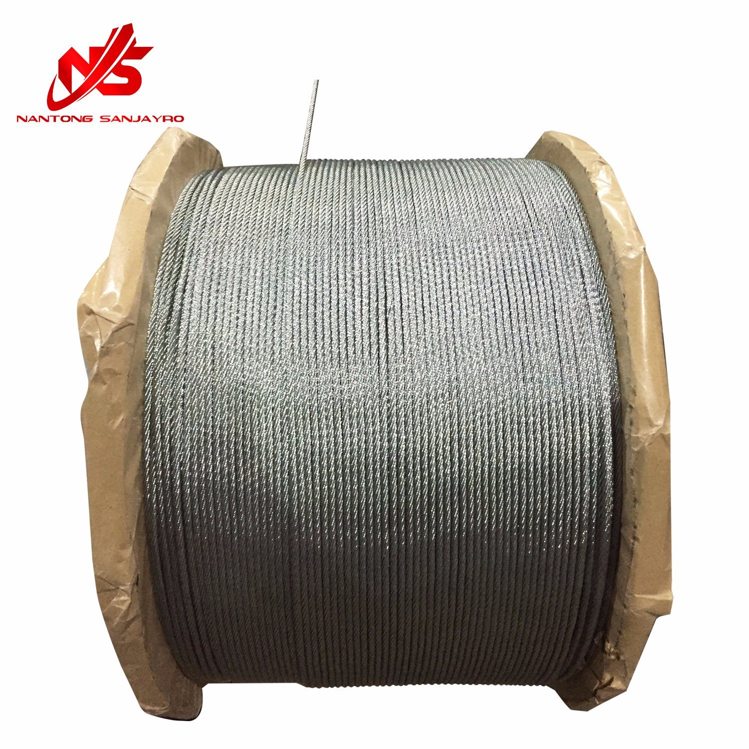 China Galvanized Steel Wire Rope 6X12+7FC - China Steel Wire, Wire