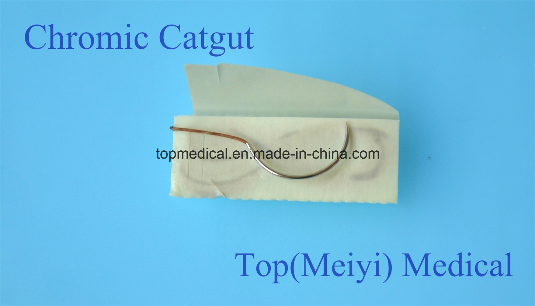 Surgical Suture Plain Catgut Chromic Catgut