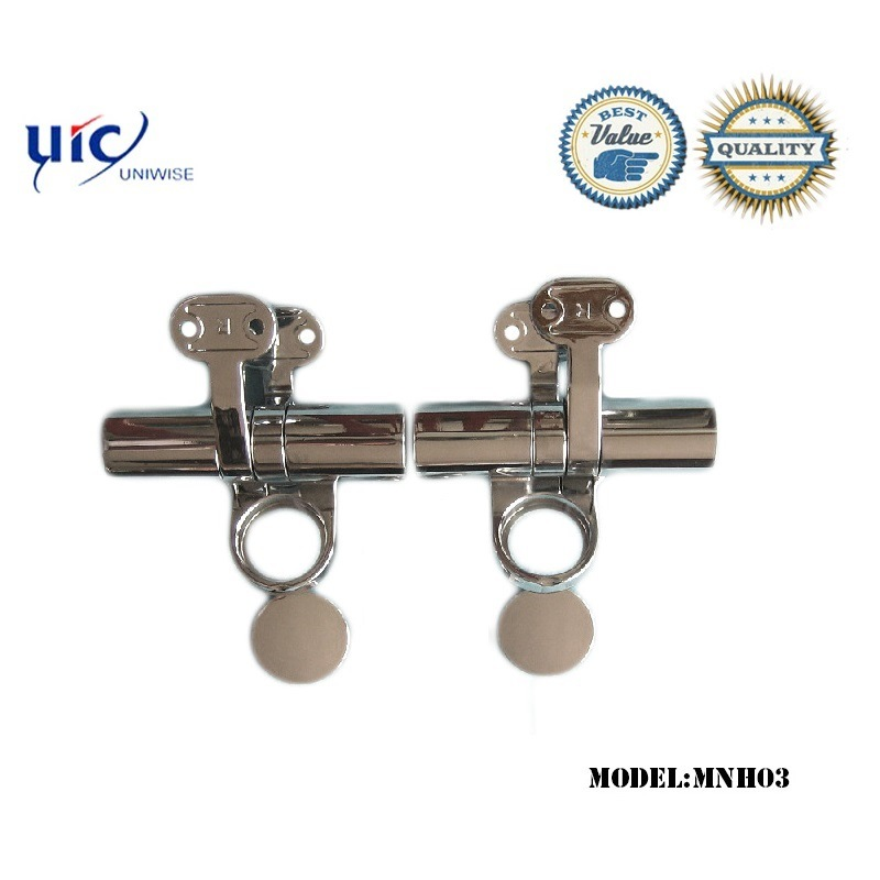Uic-Mh03 MDF Wood PMMA Resin Heavy Toilet Seat Soft Closing Hinge
