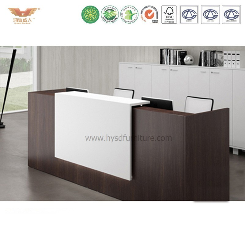 Hot Sale Front Office Counter White Modern Hotel Marble Reception Desk